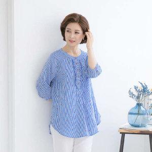 (현대Hmall)엄마옷 마담4060 하트프릴티셔츠-XDTE906002-