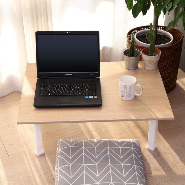 접이식 테이블 대형 메이플 / 티테이블 노트북 책상