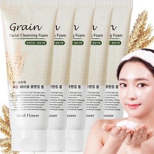 곡물 페이셜 폼클렌징 150ml 5개 /대용량특가/오트밀