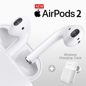 국내당일발송/정품  애플 에어팟 2세대 유선 + 바나다 무선 충전 케이스