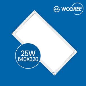 장수램프 LED평판등 엣지등 25W 640X320