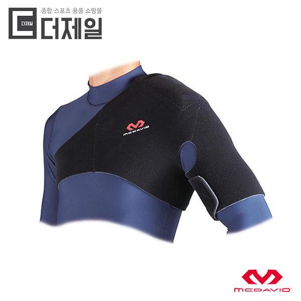 정품  맥데이비드 462R 어깨 서포트 보호대(BLACK)