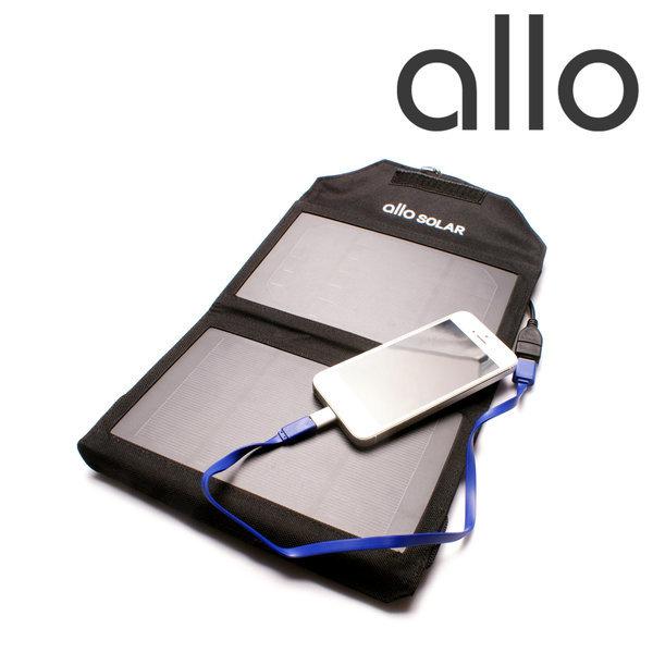 태양광 보조배터리 allo SOLAR 핸드폰 충전기