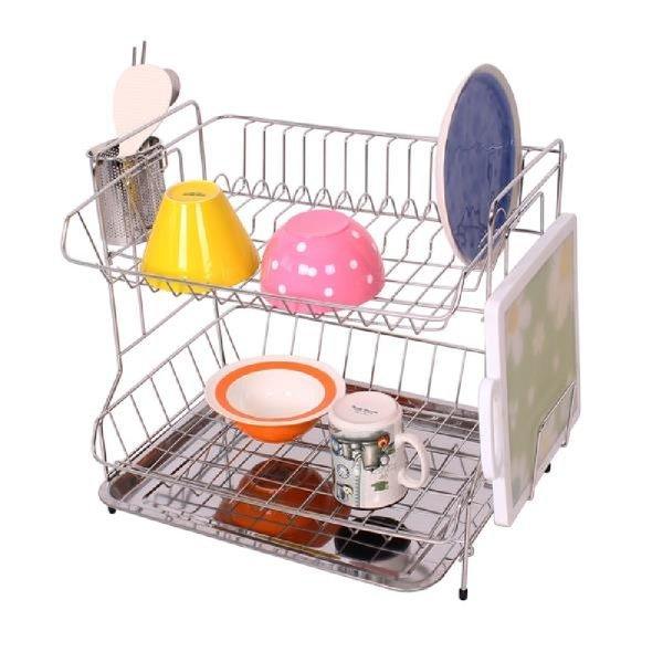 식기건조대 2단(스페셜) 설거지 그릇건조대 깔끔식기