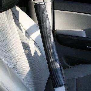 파보니 카본 안전벨트 커버 2P (L사이즈)/차량 용품
