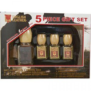 English Leather By Dana Gift Set For Men Cologne .