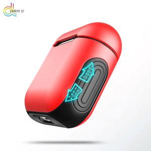 I30 I60 TWS 애플 블루투스 에어팟 이어폰 케이스 레드