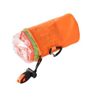 응급 비상 침낭 세트 오렌지/생존 은박 담요 생존키트