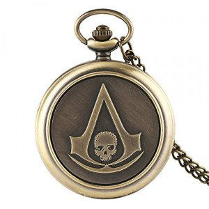 Pocket Watch Assassins Creed Classic Style Pocket
