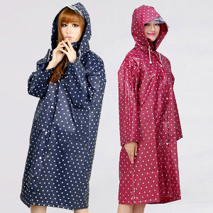 여성레인코트 G타입 EVA투명창코트 여성비옷 여자우의