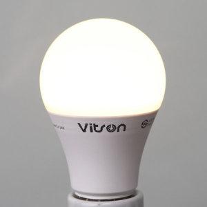삼파장 대체형 KS LED 8W 에코 벌브 램프 전구 전구색