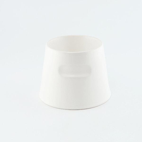 도자기 강아지 밥그릇 고양이 물그릇 코코(화이트)