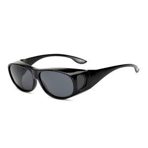 안경위에 쓰는 UV차단 편광 선글라스 안경 1+1 핀홀