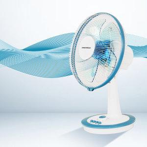 대우 12인치(30cm) 기계식 선풍기 DEF-SH12T 블루