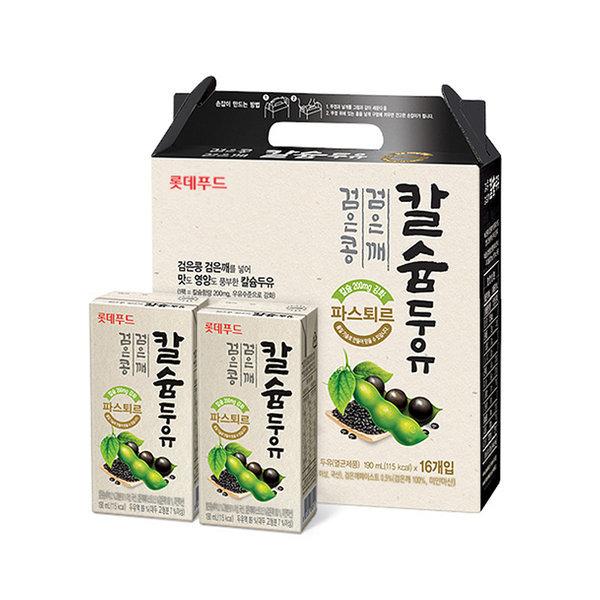 파스퇴르 검은콩검은깨 칼슘두유 190mlx48팩