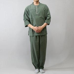 다담이 칠부 라운드자수/생활한복/개량한복/단체복