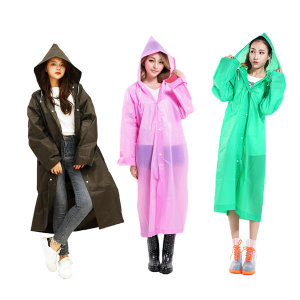 EVA 패션 레인코트 남녀공용 우비 우의 8컬러
