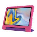 갤럭시탭A10.5 믹스컬러 에바폼 안전 케이스-핑크퍼플
