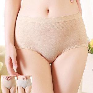빅사이즈 면모달 스판팬티 여성삼각 임산부 속옷 5075