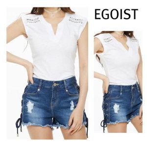 에스닉 장식 티셔츠 EH2CV466