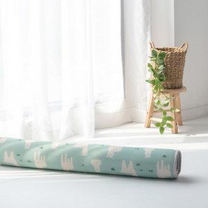 뽀글이 라마 3D 에어메쉬 아기 쿨매트