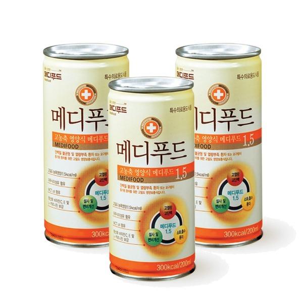 메디푸드 1.5 200ml x 30캔/고농축 영양식
