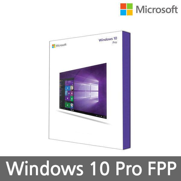 Windows 10 Pro 처음사용자용 FPP 한글 정품
