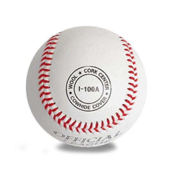 ILB 프로-대학용 야구공(I-100A) 낱개 1개 야구 연습
