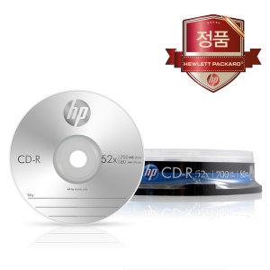 HP CD-R 700MB 52배속 10장케이크