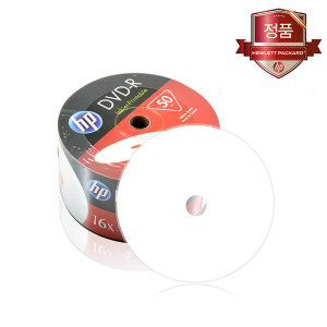 HP 프린터블 DVD-R 4.7GB 16배속 50장벌크