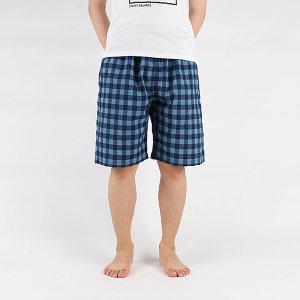 5부 선염체크파자마 잠옷바지 수면바지 여름잠옷 바지