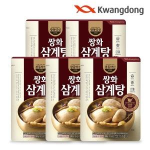 광동약선 쌍화삼계탕 1000g x 5봉/삼계탕