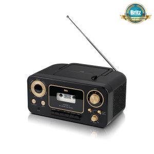 브리츠인증점 BZ-C3900RT CD플레이어 카세트 라디오