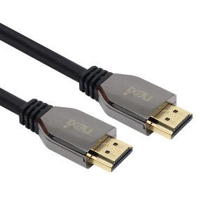 NX-HD21005 (0.5M) v2.1 메탈 HDMI 케이블 / NX804