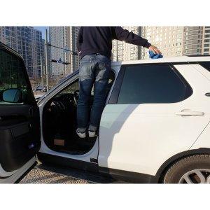발판 세차 차량 자동차 지붕청소 지붕정리 도어스텝