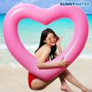 써니워터 대형 하트튜브 (핑크) 120cm 물놀이튜브
