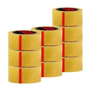 금성 OPP 박스테이프 48mm x 40M 투명 10개 묶음