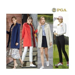 PGA   여성 19 SS 라운딩 자켓+셔츠+팬츠 3종 세트