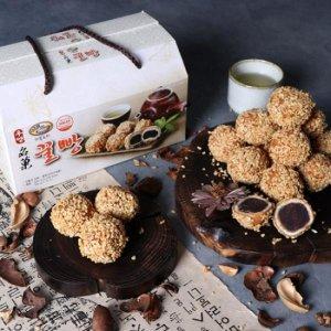 더블로리 견과류 토핑 팥앙금 듬뿍 우영 꿀빵 600g