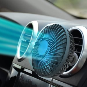 차량용선풍기 송풍구 거치식 3단조절 써큘레이터