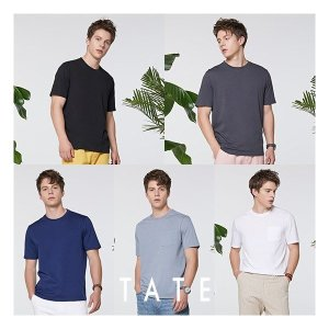 테이트 남성 실켓100 여름 티셔츠 5종