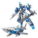 2 IN 1 블루상어 블럭486pcs (411)/레고호환블럭