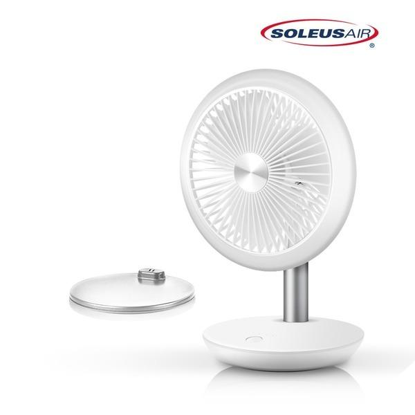 휴대용 무선 선풍기 도크 충전 AIR602TFW