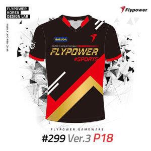 플라이파워 2019 반팔 티셔츠 299 P18 FLYPOWER FLPA 299 PROJECT 남자 여자 반팔티 299 P18 플파