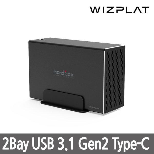 WIZ-20U31C USB3.1 C타입 2Bay RAID 대용량 외장하드