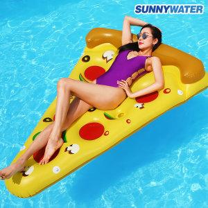 특대형 피자 튜브 보트 라이더 라운지 물놀이용품