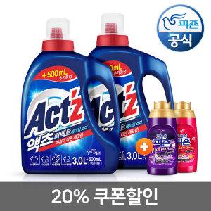 액체세제 퍼펙트 베이킹소다 3.5L 2개 +미니200x2개