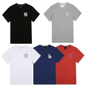 남여공용 에센셜 심플 로고 반팔 티셔츠 (31TS62831)