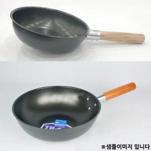 업소용 중국 후라이팬 웍 궁중팬 32호 33.5x11cm 1p