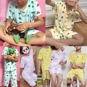 아동도형세트 주니어잠옷세트 짱구잠옷 아이스잠옷